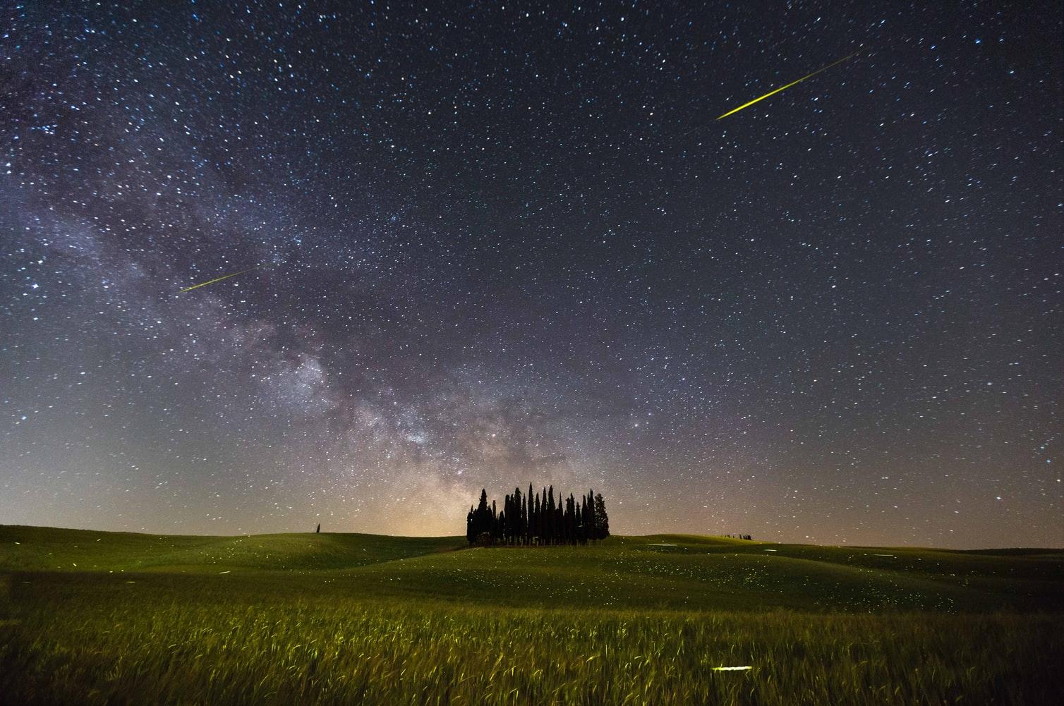 Kometa na obloze